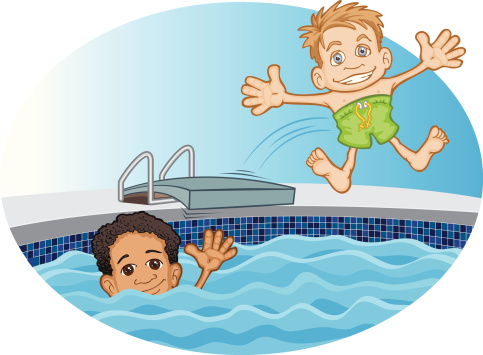 Clipart swimming friends. Free cliparts download clip