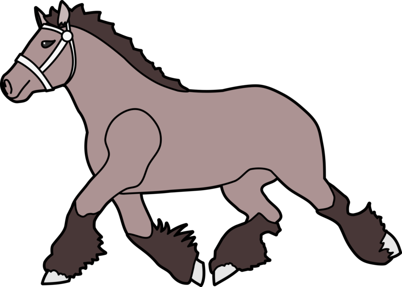 Free images black and. Horse clipart easy