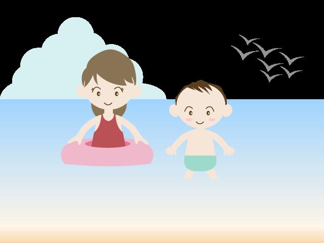 Clipart swimming material. At bath children summer