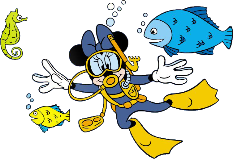 Clipart swimming minnie mouse. Gntl kb mickey pinterest