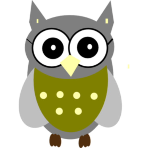 Snowy at getdrawings com. Smart clipart smart owl