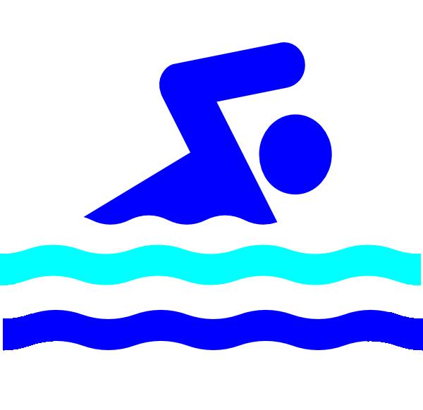 Swim party logo at. Swimsuit clipart clip art