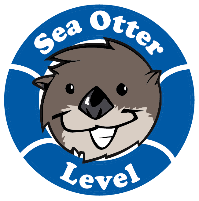 Groundhog clipart sea otter. Swim lessons levels and