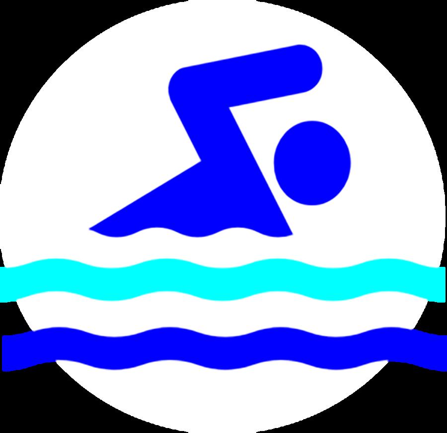 Three swim relays qualify. Swimsuit clipart swimming tog
