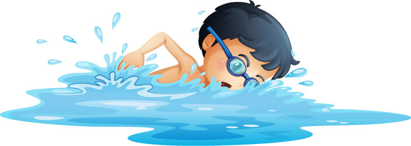 Clipart swimming swimming lesson. Swim free images at