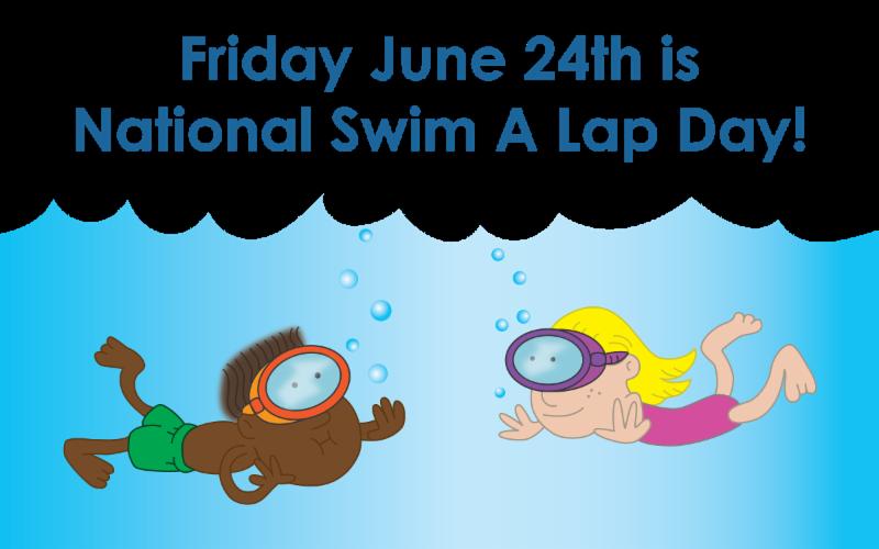 National swim a lap. Swimsuit clipart cartoon