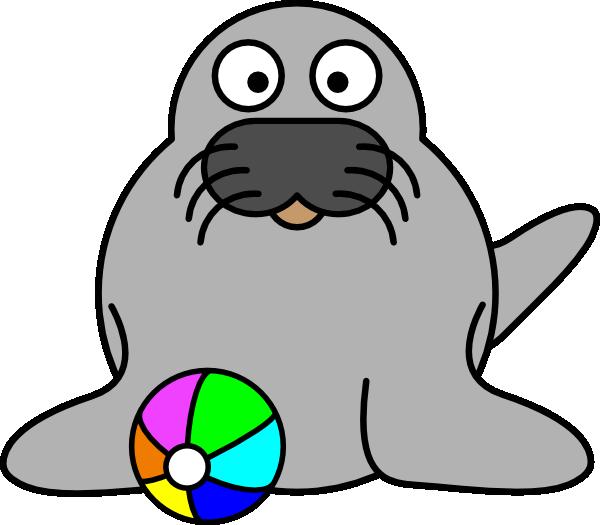Walrus clipart swimming. Seal panda free images