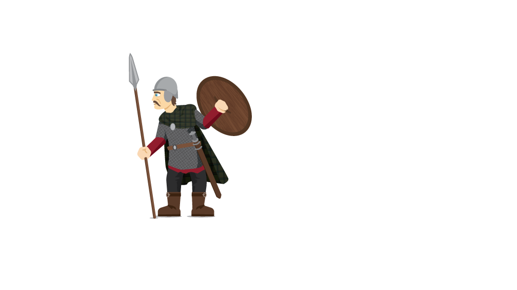 Warrior clipart anglo saxon. Bbc bitesize when did