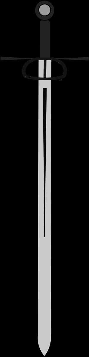 Broad vector panda free. Clipart sword broadsword