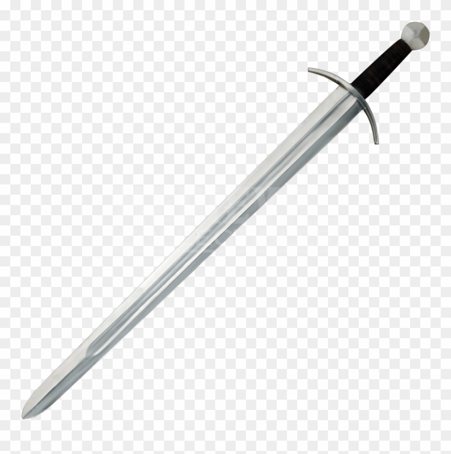 Clipart sword broadsword. Medieval knights broad ah