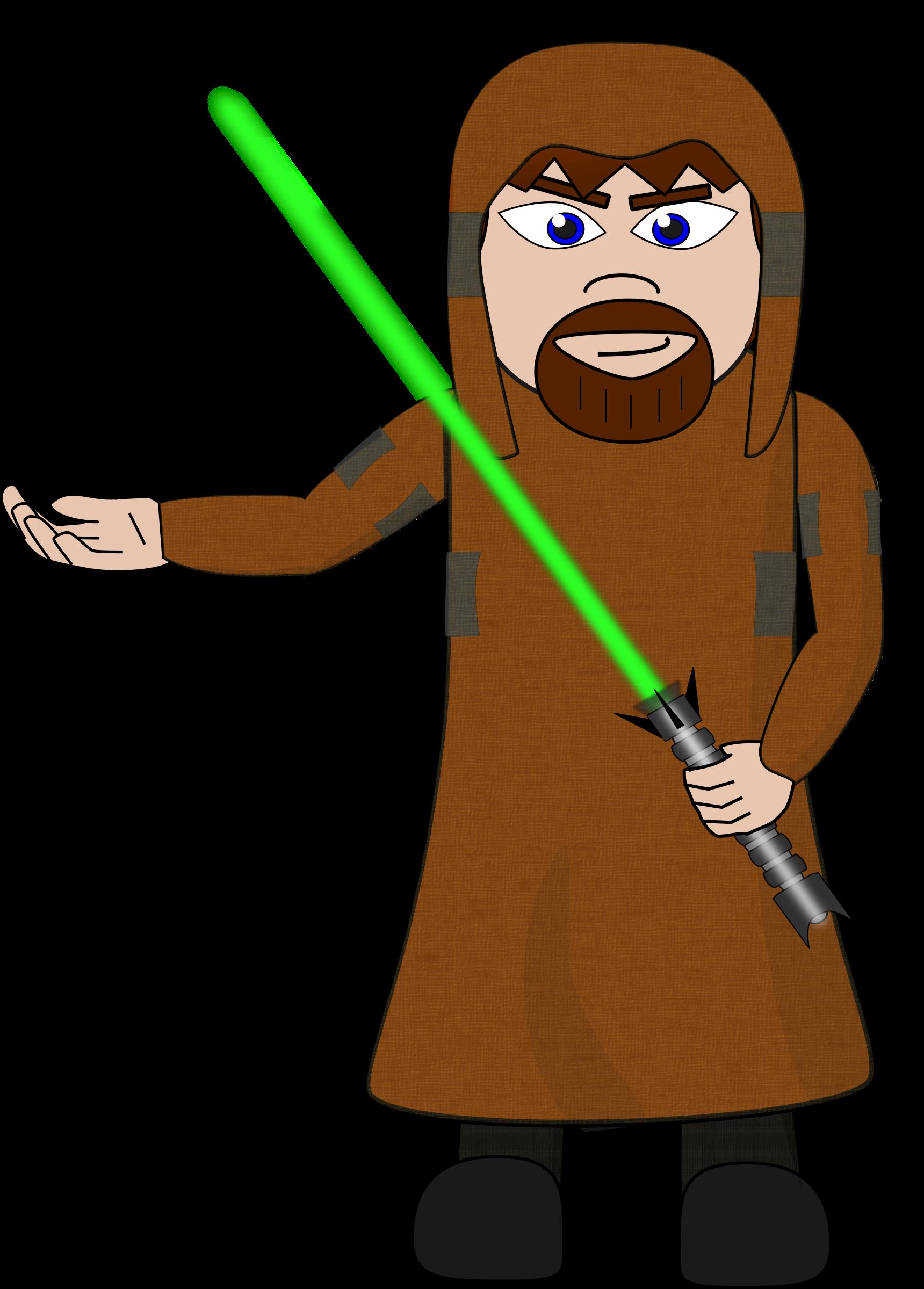 Laser sword salesman big. Knights clipart knighted