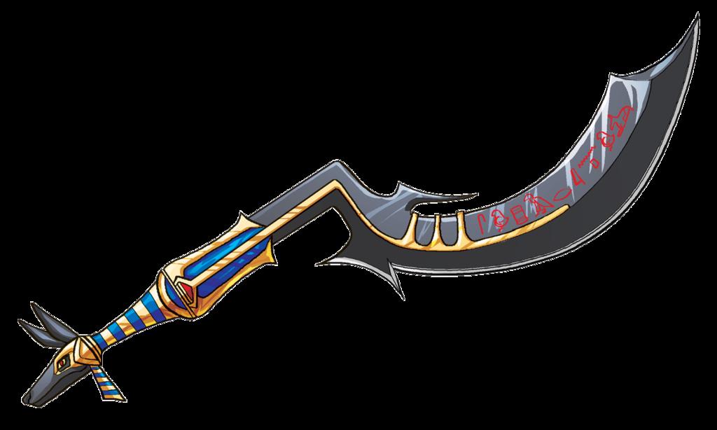 Anubis super khopesh by. Dagger clipart saber sword