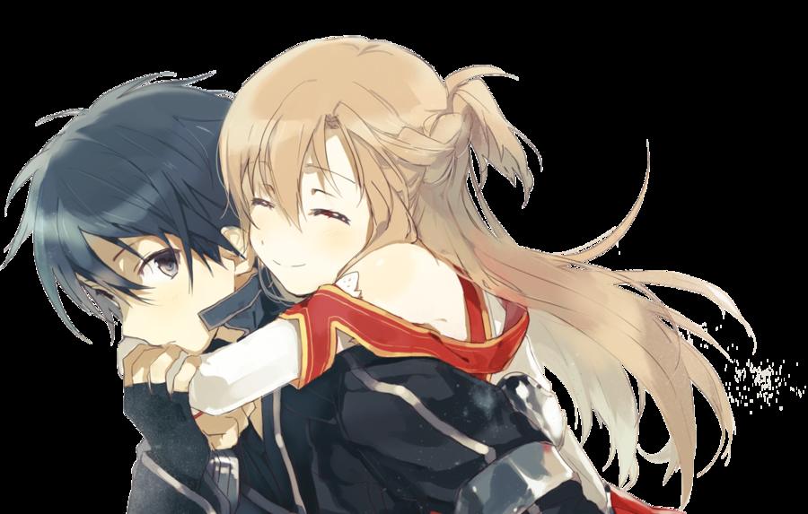 Art online render kirito. Sword clipart cute