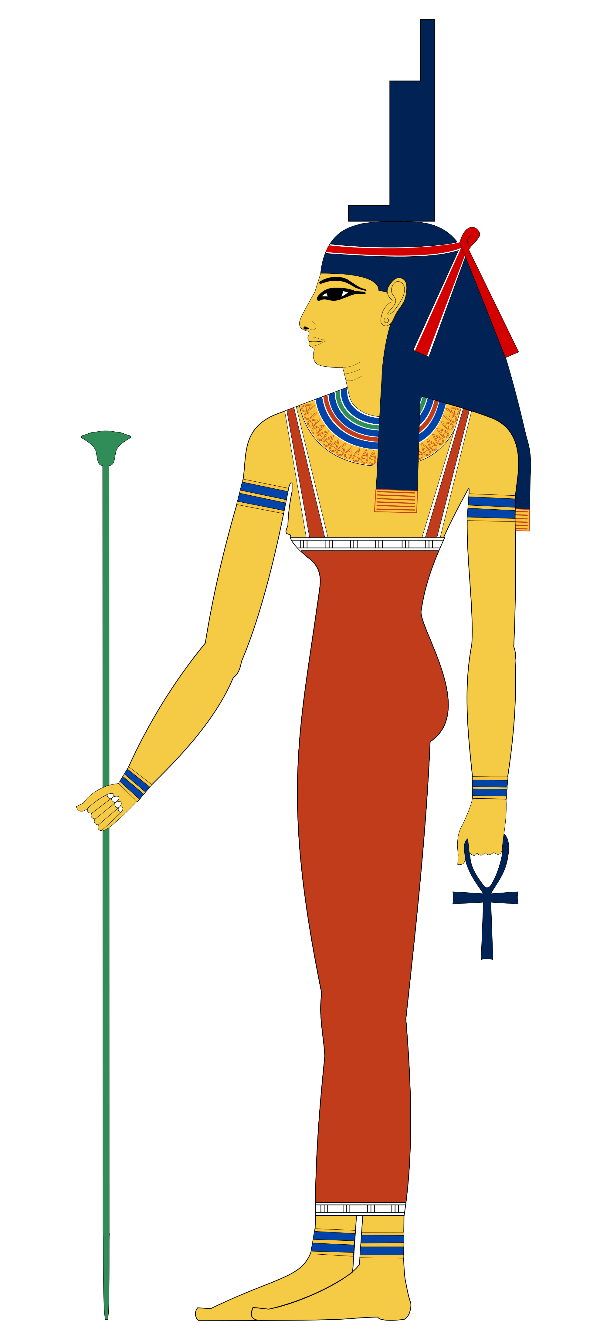 Hat clipart pharaoh. Isis by jeff dahl
