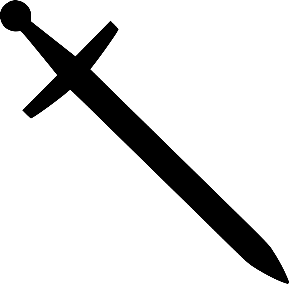Blade knight classic svg. Sword icon png
