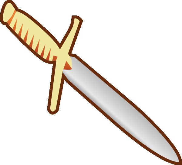 Clipart sword gun. Knife panda free images