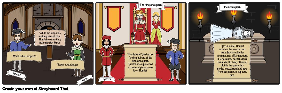 Dagger clipart hamlet. Act scene storyboard by