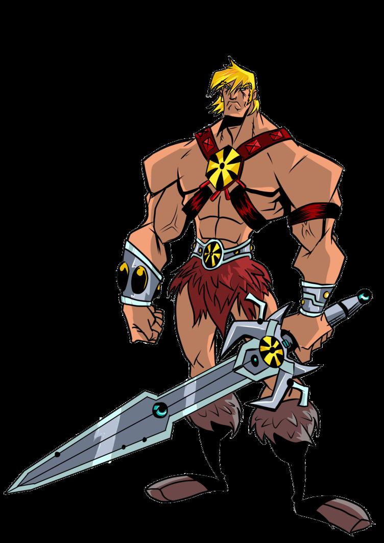 Clipart sword he man. Motu lone figures by