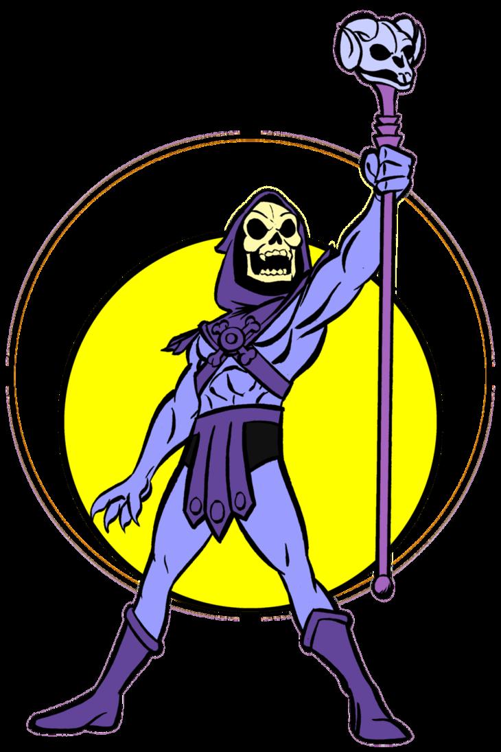 Skeletor avatar by alanschell. Clipart sword he man
