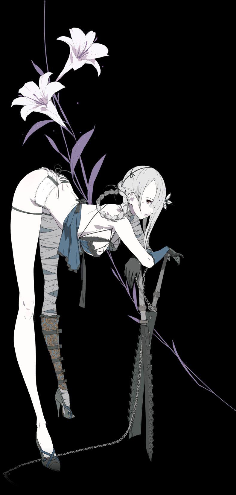 Clipart sword jpeg. Image kaine png nier