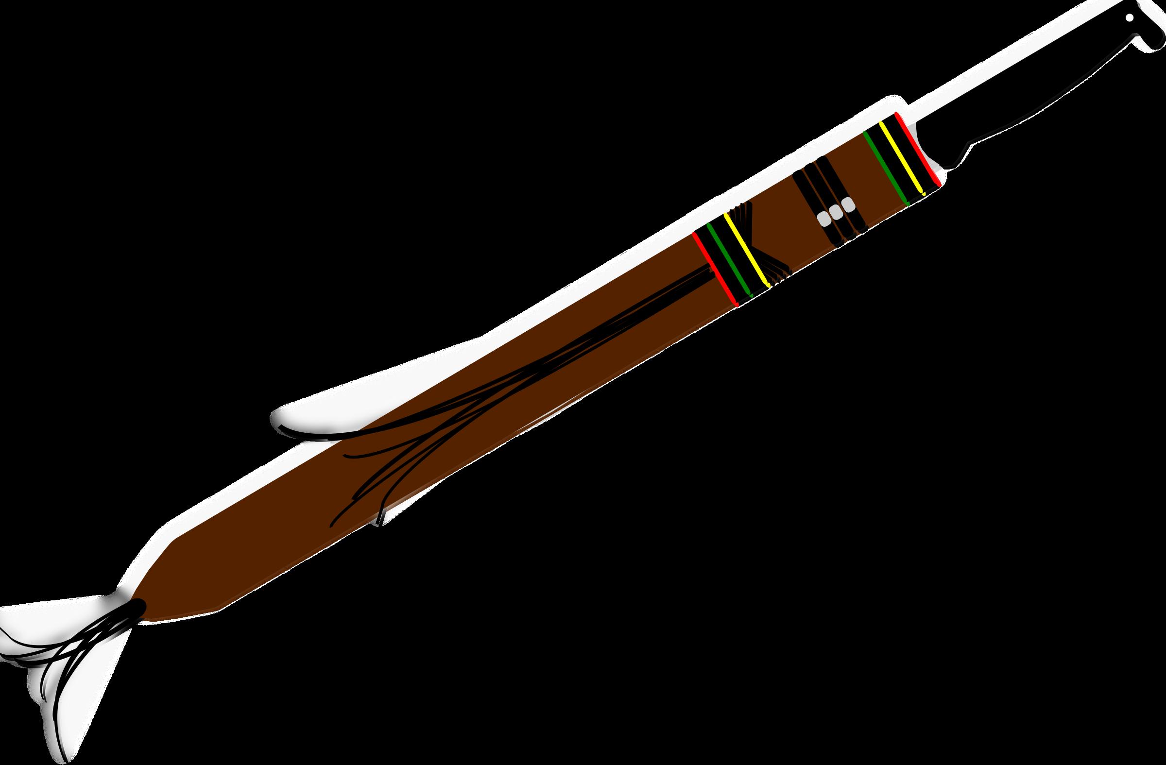 Clipart sword machete. Colombian big image png