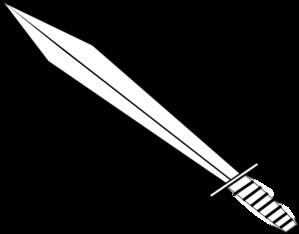 Clipart sword outline. Clip art at clker