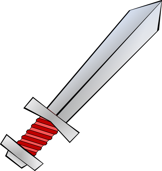 Red Sword Clip Art at Clker