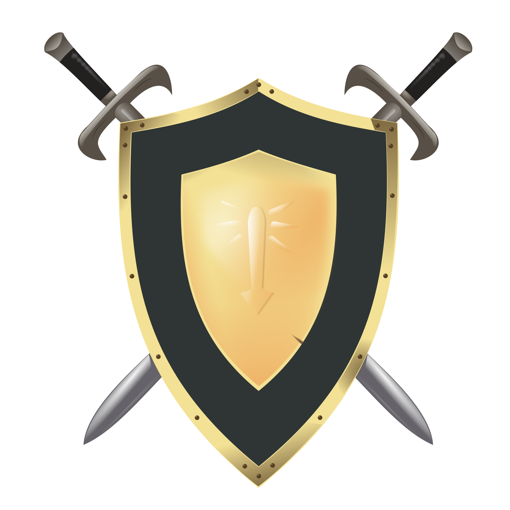 Clipart sword shield. File wesnoth svg wikimedia