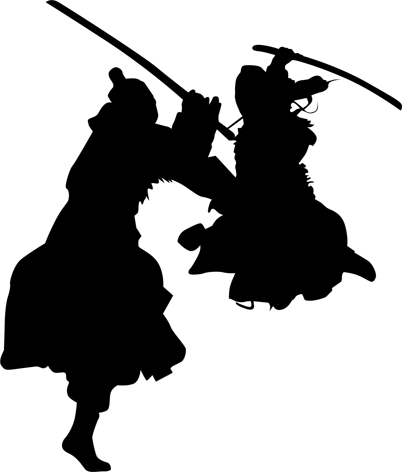World haidong gumdo federation. Clipart sword silhouette