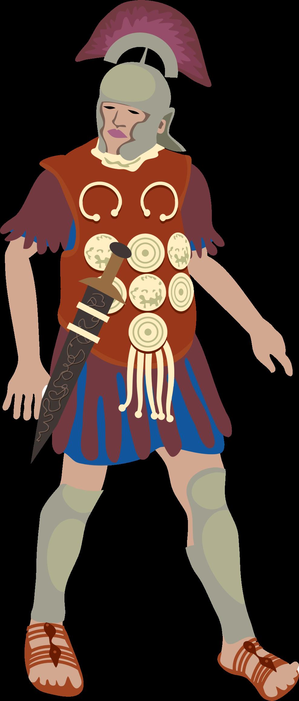 Spartan clipart logo spartan. Roman centurion big image