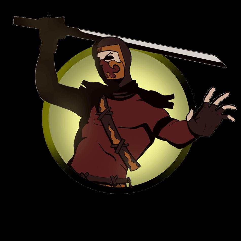 Starwars clipart sword. Image ninja man png