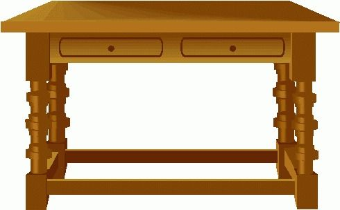clipart table