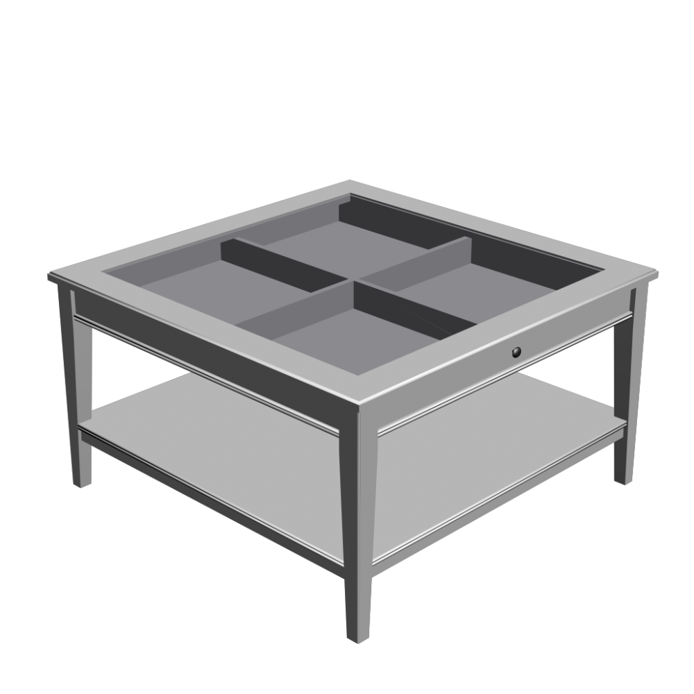 Clipart table 3d table. Liatorp coffee white glass