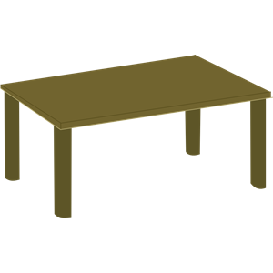 Clipart table 3d table. Wooden cliparts of free