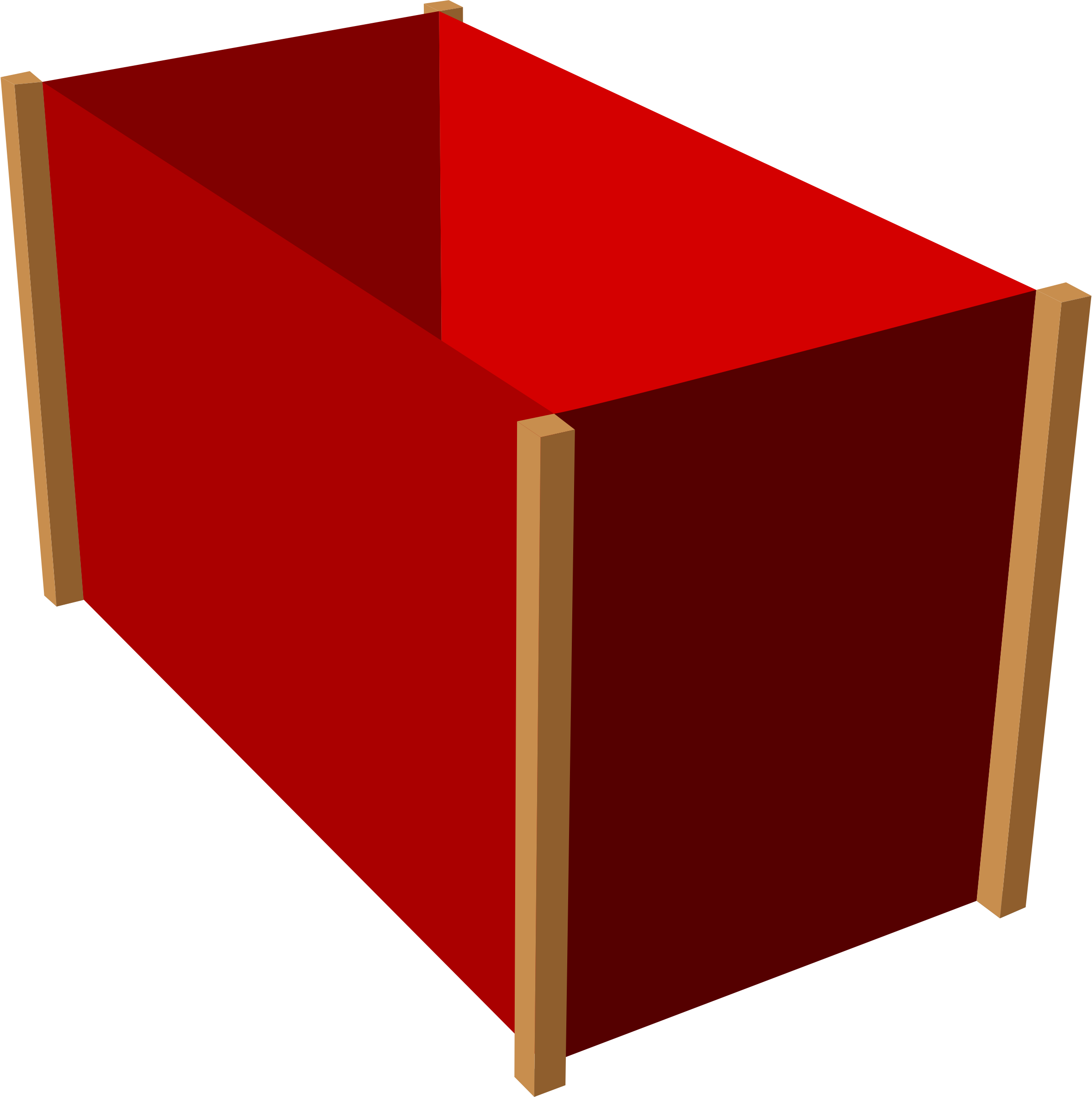 D box demo with. Clipart table 3d table
