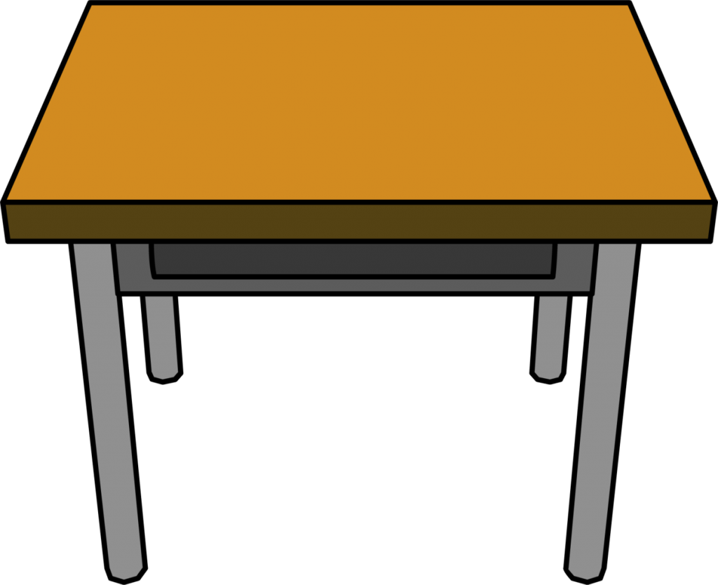 Lunch clipart lunch table. Student desk clip art