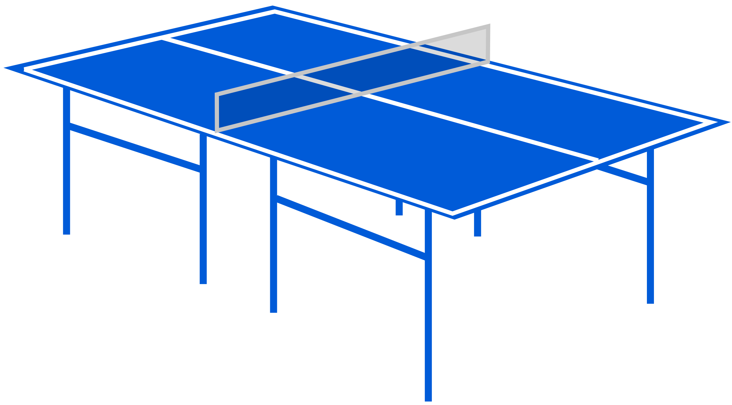 Tennis big image png. Clipart table blue table