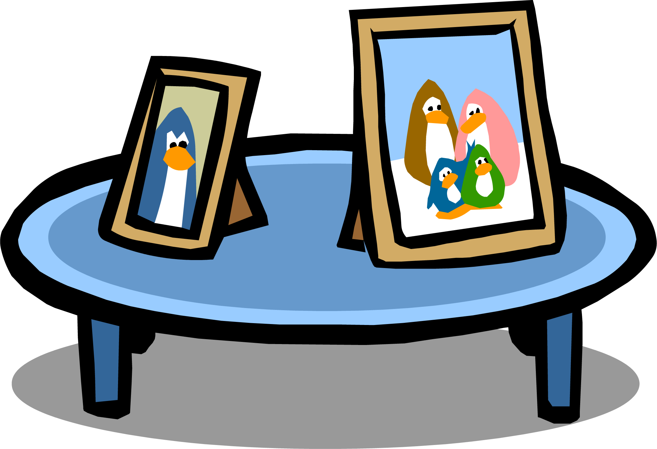 Clipart table blue table. Image sprite png club