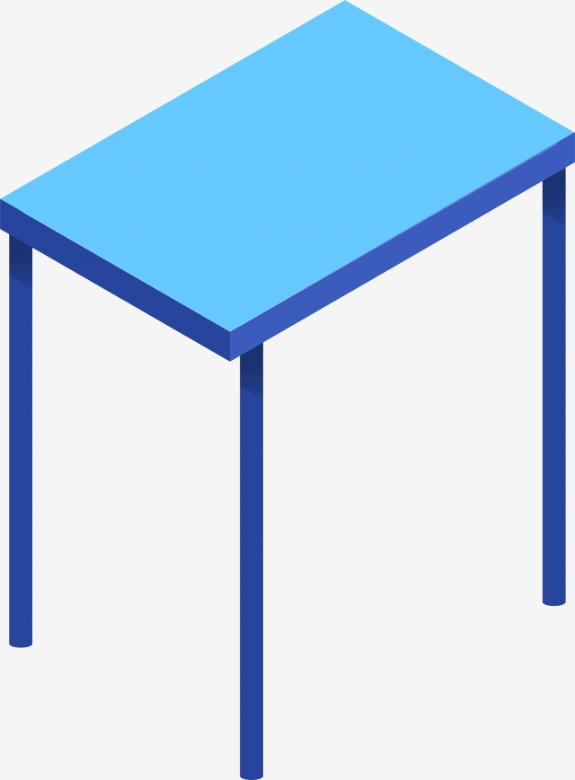 Wooden vector png psd. Clipart table blue table