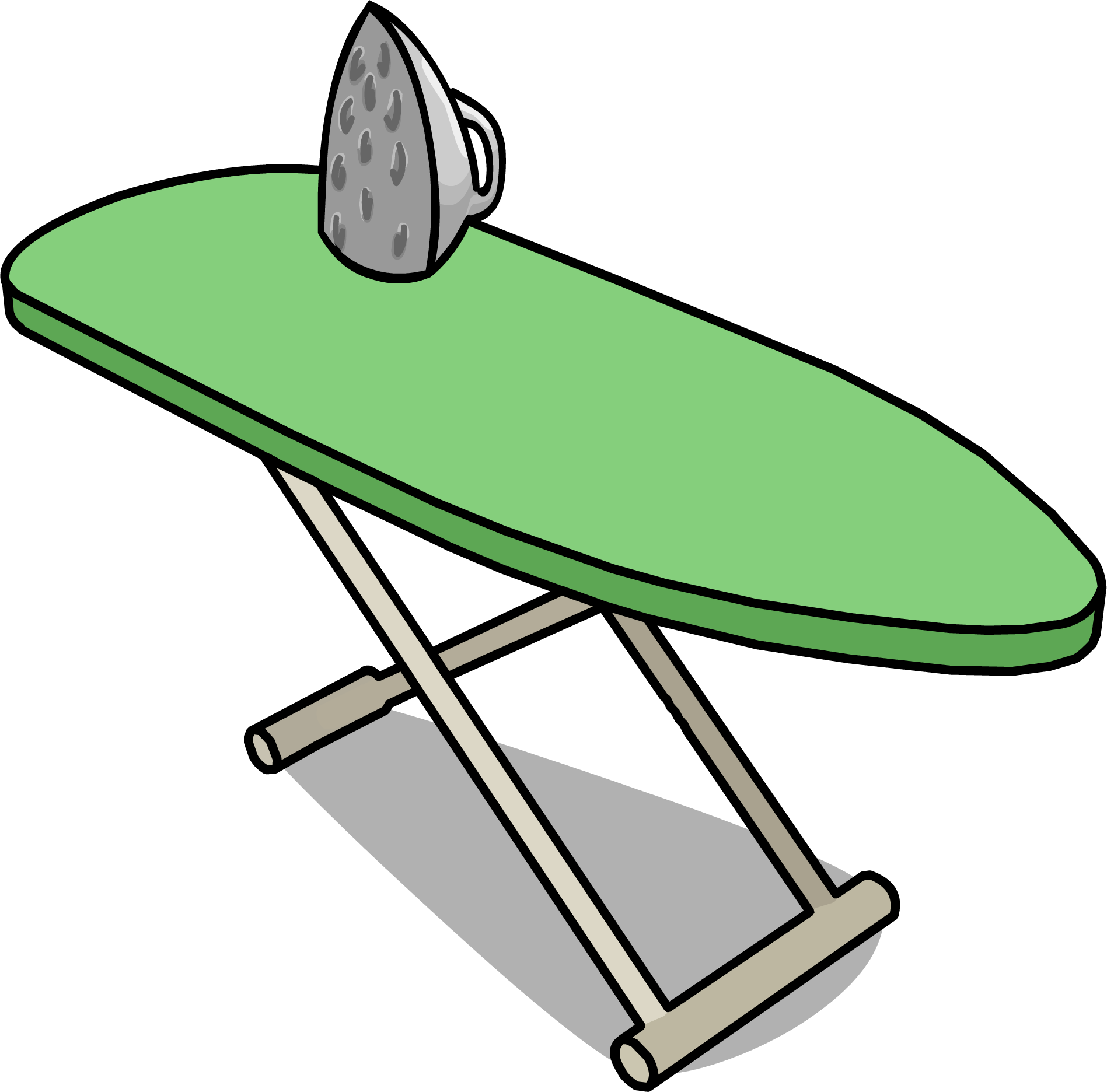 Clipart table board director. Image ironing sprite png