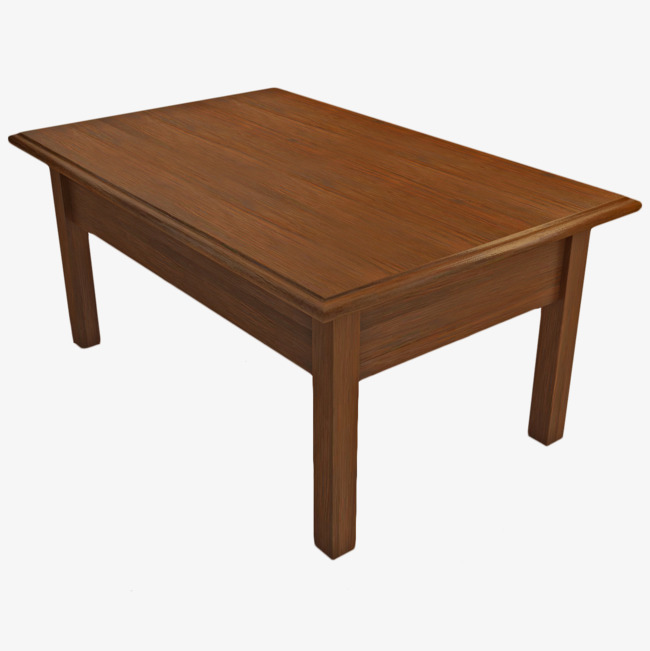 . Clipart table brown table