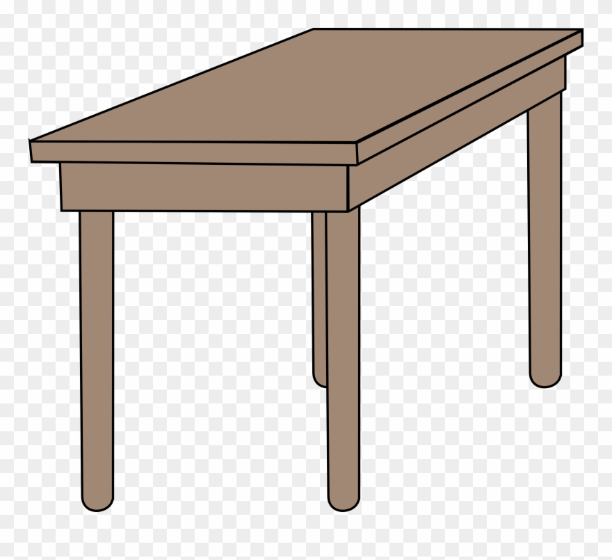 Clipart table class table. Room desk png download