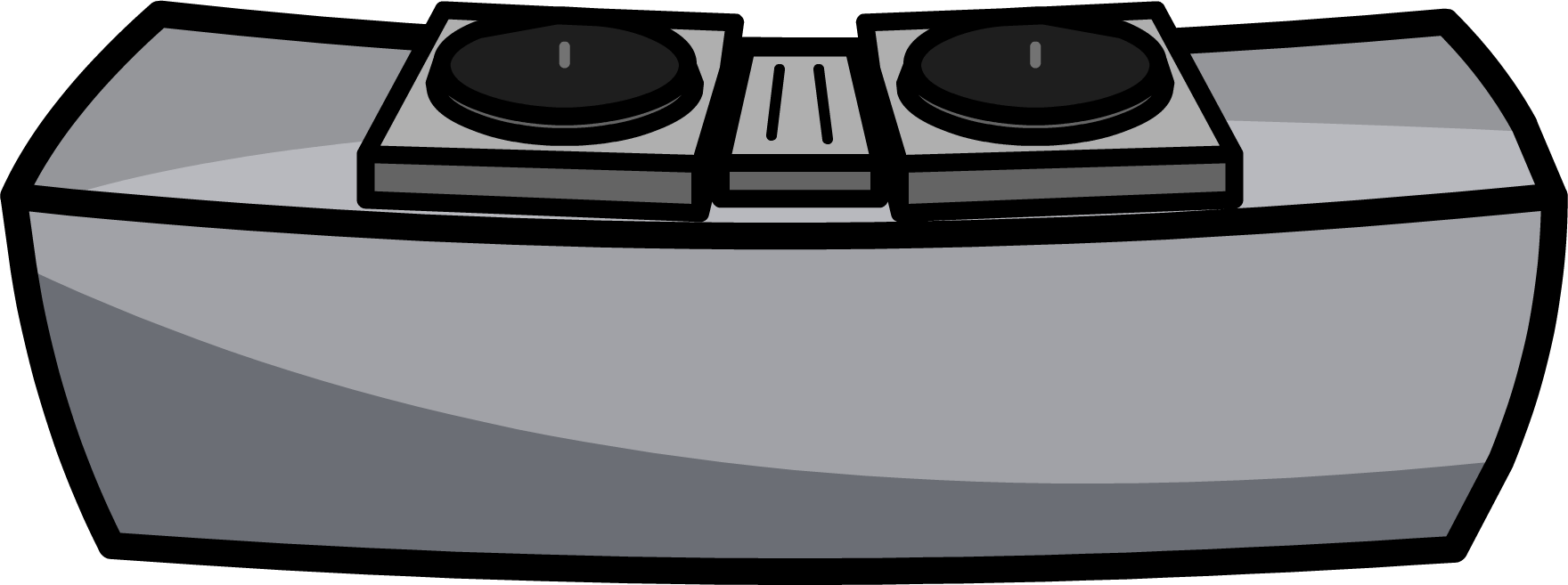 Clipart table club penguin. Image dj png rewritten