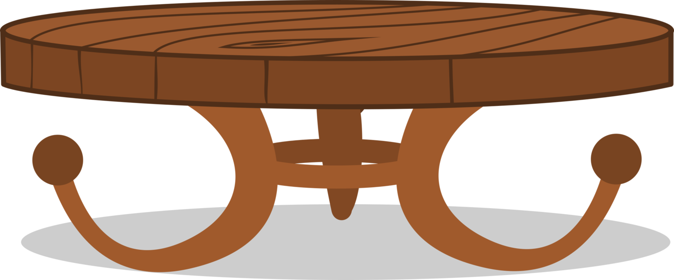Round by misteraibo on. Clipart table coffee table