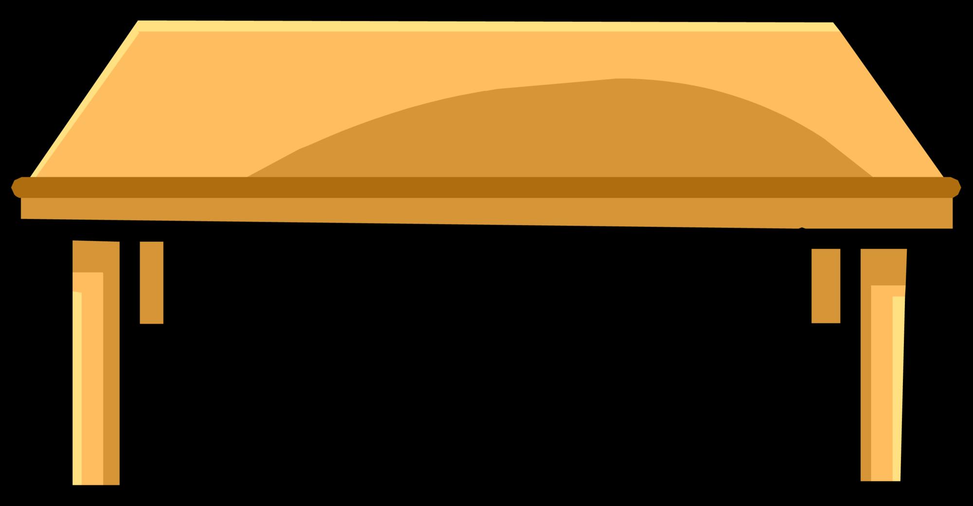 Clipart table coffee table. Club penguin wiki fandom