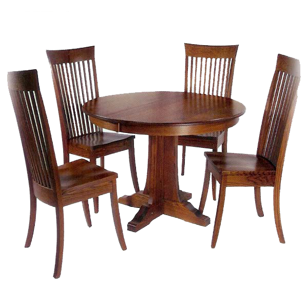 Dining table transparent png. Furniture clipart wooden furniture