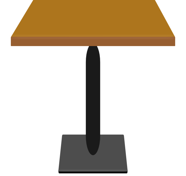 Furniture clipart dinning table. Dining clip art at