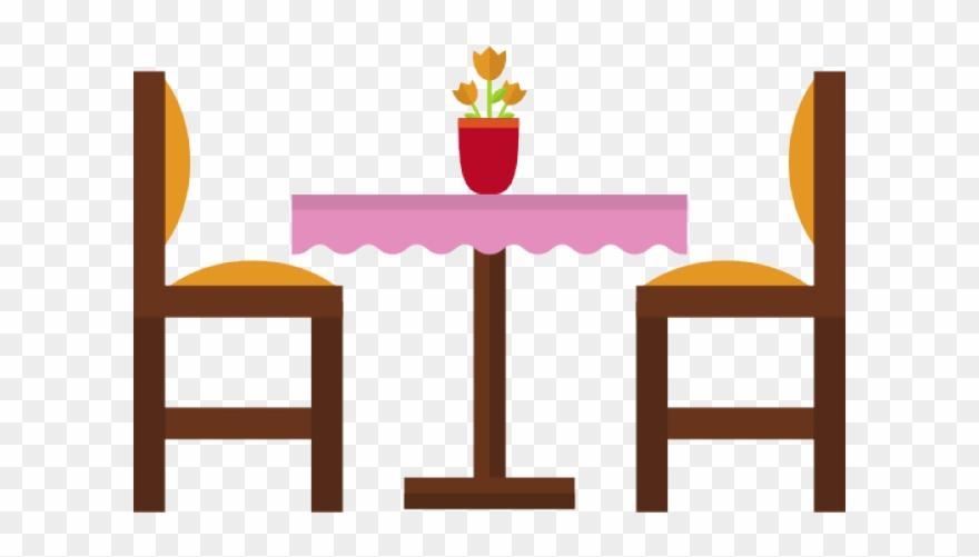 Furniture clipart dinner table. Dining elegant