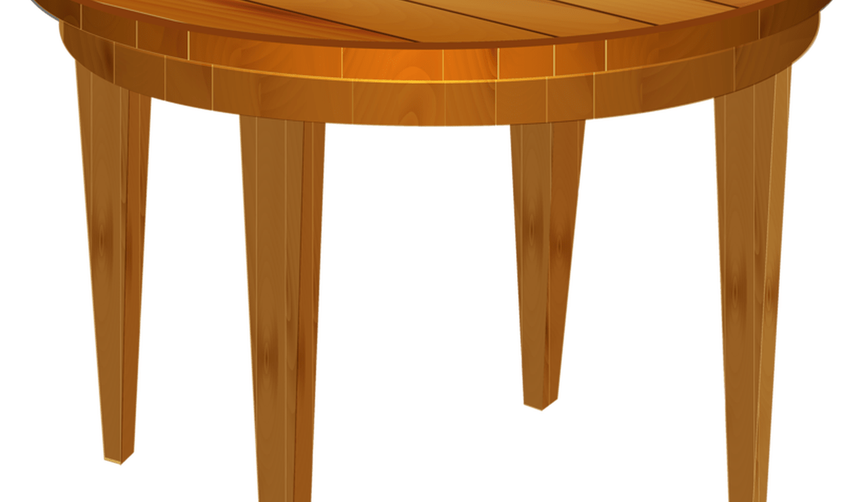 Cartoon wood wooden thing. Clipart table empty table