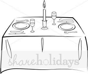 Portal . Clipart table fancy table